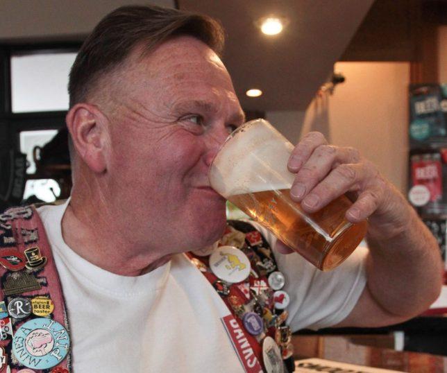 PRI 84055557 e1568111235325 - Man celebrates 35-year pub crawl with 50,000th pint