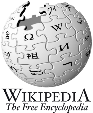 Wikipedia logo - The History of Pork Scratchings