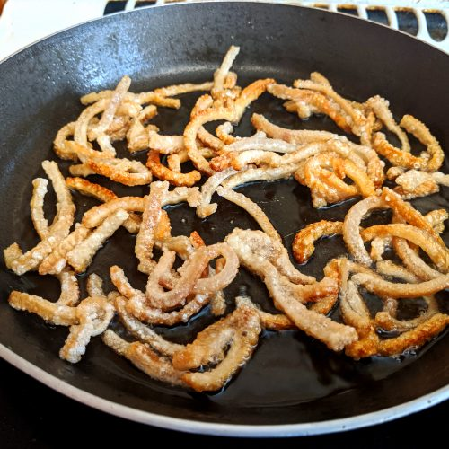 IMG 20190926 122828 500x500 - How to make Pork Crackling in a Frying Pan