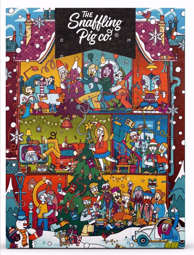 Snaffling Pig Pork Scratchings Advent Calendar 2019