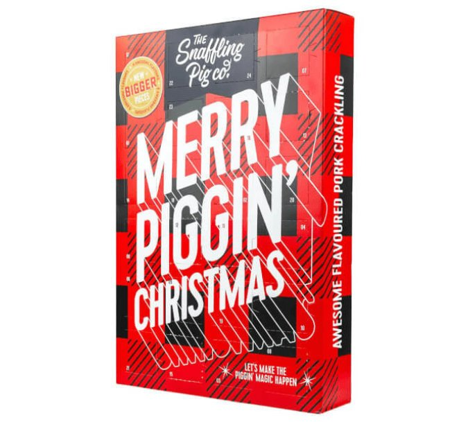 snaffling pig pork scratchings advent calendar 2018 1 - Pork Scratchings Advent Calendar