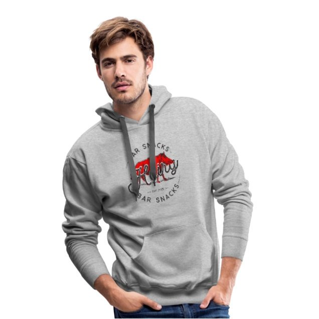 Men's Hairy Bar Snacks Hoodie