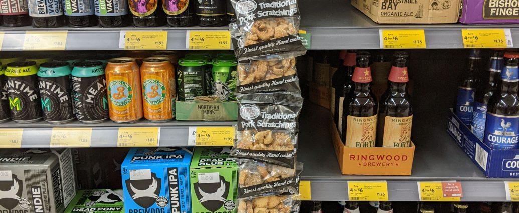 midland snacks pork scratchings at morrisons supermarket