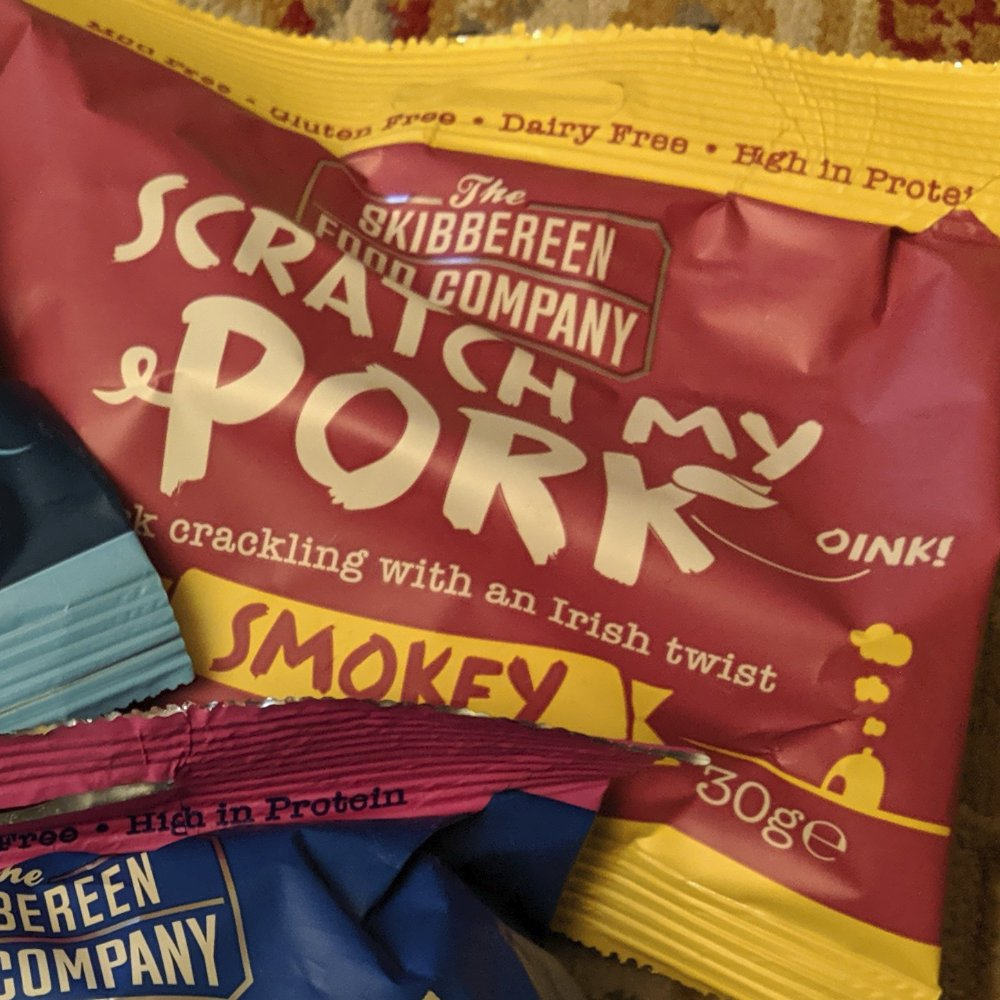 scratch my pork smokey pork crackling review - How to Review Pork Scratchings