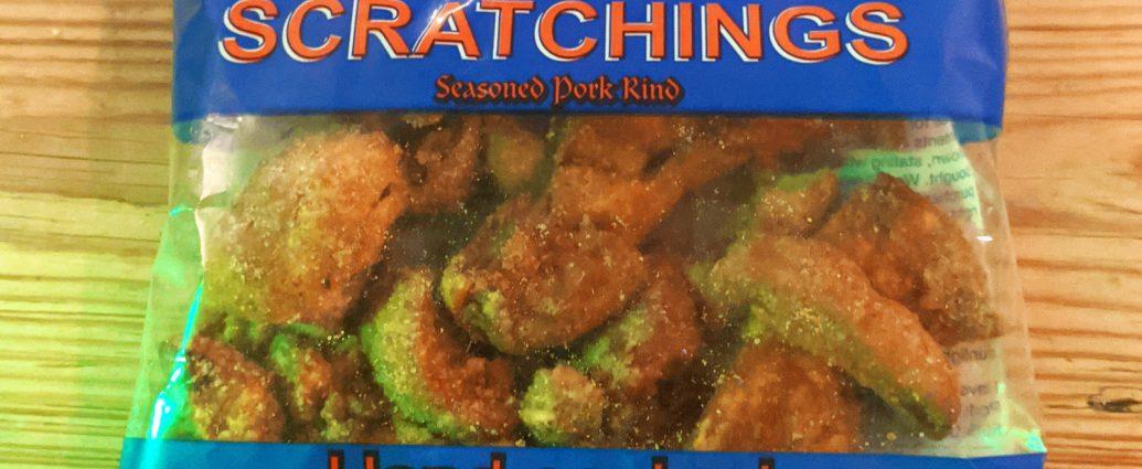 Ray Gray Snacks, Pork Scratchings Seasoned Pork Rind
