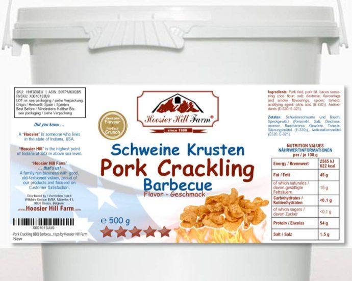 Pork Crackling in a Bucket by Hoosier Hill Farm