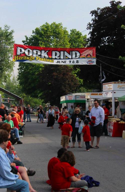harrod pork rind festival 01 - Pork Rind Heritage Festival - Harrod, Ohio, USA