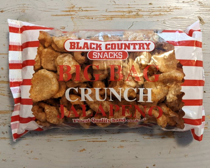 Black Country Snacks Big Bag Crunch Jalapeno Review 690x550 - Black Country Snacks, Big Bag Crunch Jalapeno Review