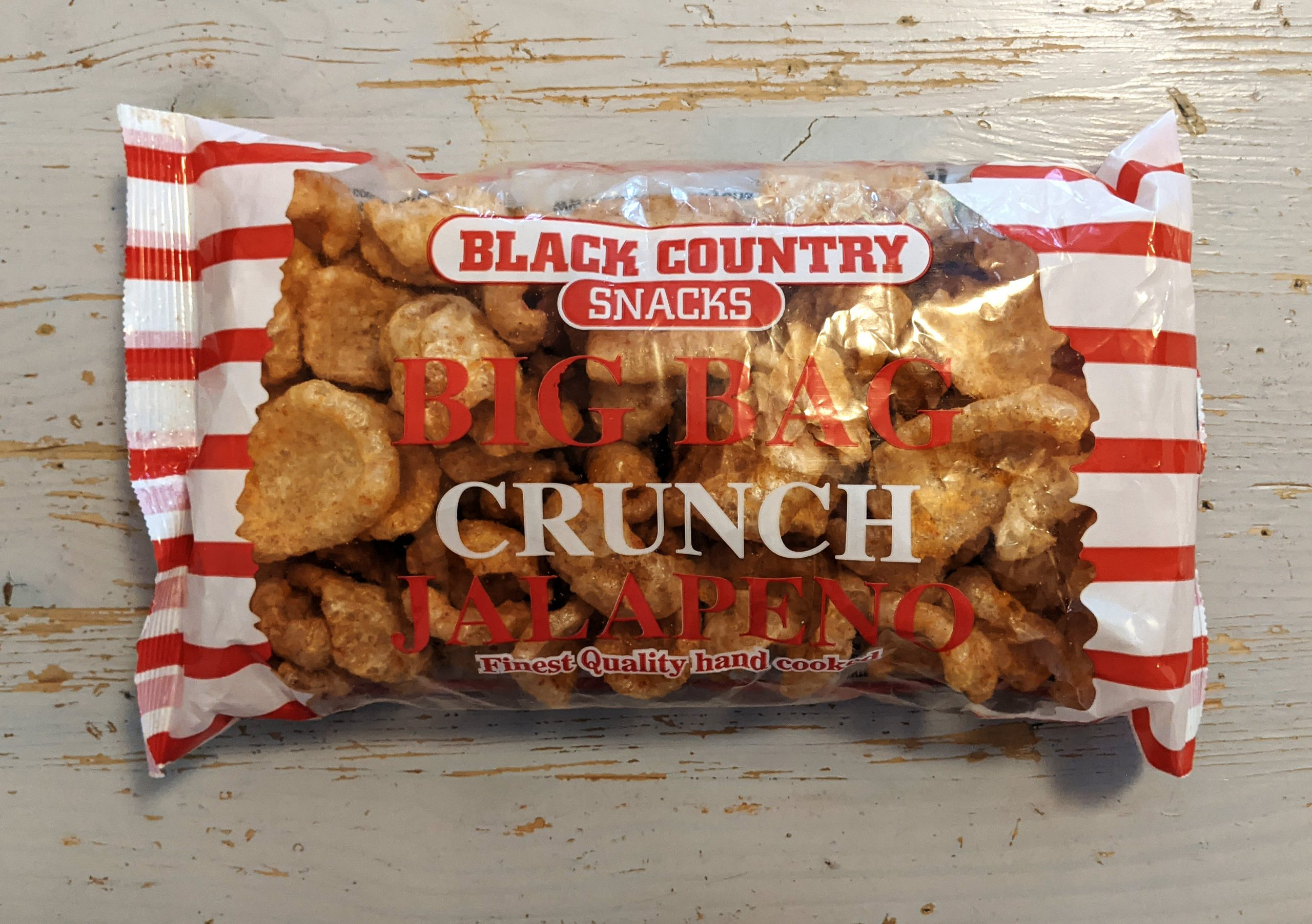 Black Country Snacks Big Bag Crunch Jalapeno Review scaled - How to Review Pork Scratchings