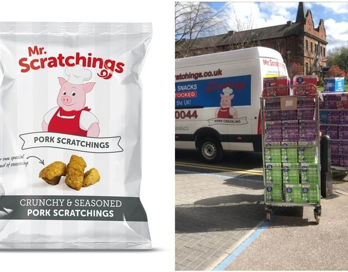 mr scratchings 01 690x539 - Bradford based Mr Scratchings pork scratching company badly affected by lockdown