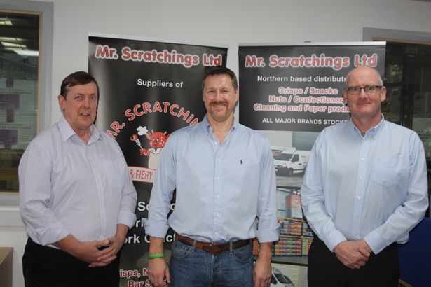 mr scratchings 02 - Bradford based Mr Scratchings pork scratching company badly affected by lockdown