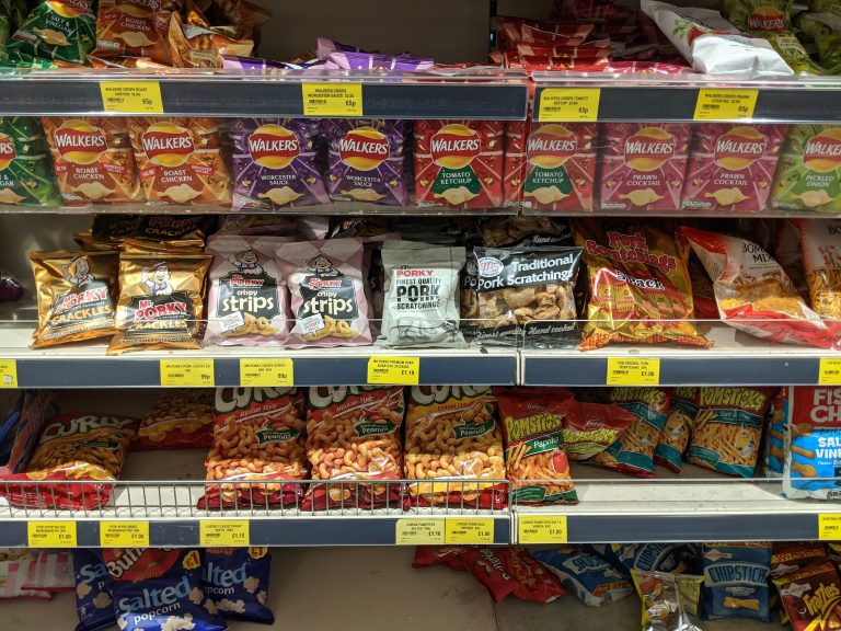 IMG 20200222 143117 768x576 - What are the Best Value Pork Scratchings?