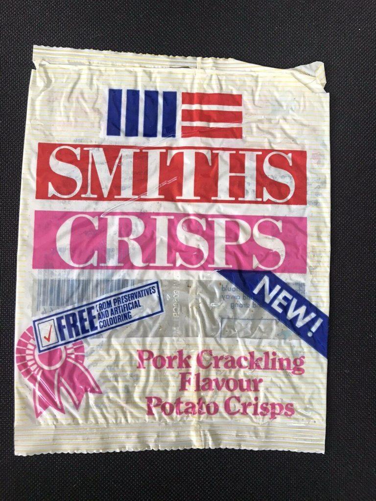 Vintage Smiths Crisps Pork Crackling Flavour Potato Crisps Front 768x1024 - Vintage Smiths Crisps - Pork Crackling Flavour Potato Crisps