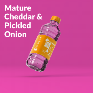 Snaqua cheddar 300x300 - Pork Scratching Flavour Water! - Snaqua is the World's First Savoury Water
